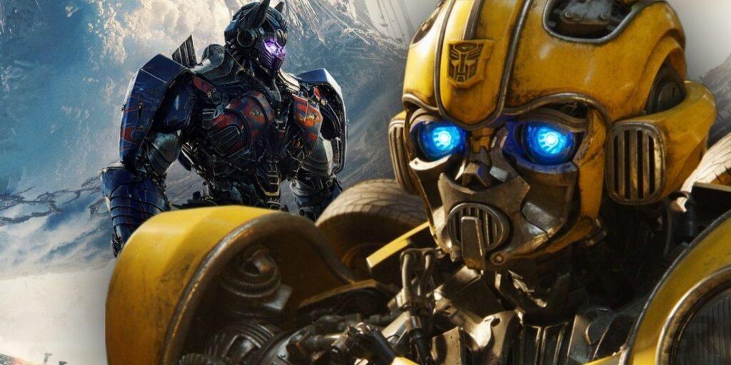 Bumblebee e Optimus Prime