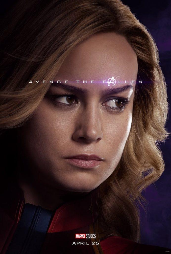Capitã Marvel - Vingadores Ultimato