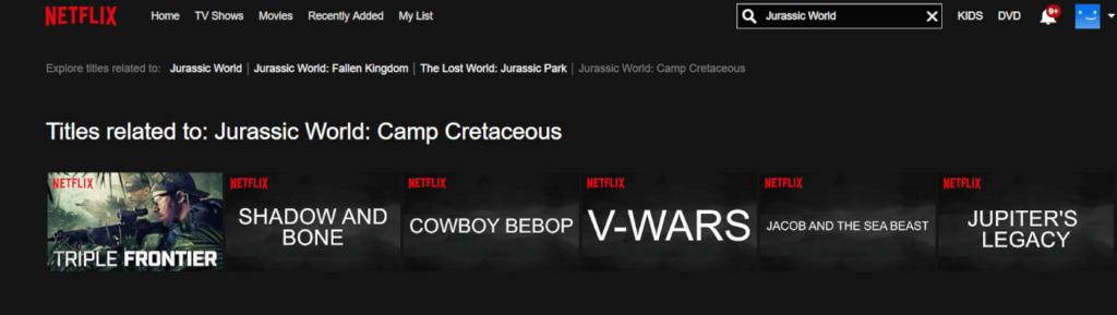 O site Jurassic Outpost divulgou uma imagem de um misterioso título Jurassic World - Camp Cretaceous.