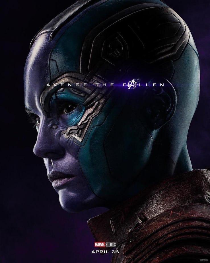 Nebulosa - Vingadores Ultimato