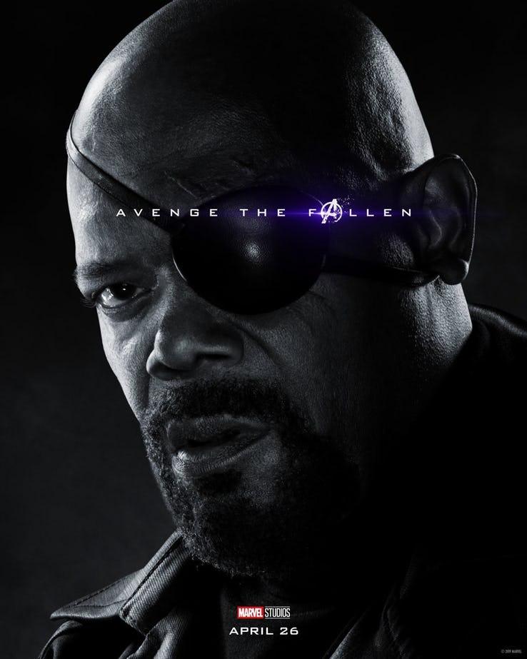 Nick Fury - Vingadores Ultimato