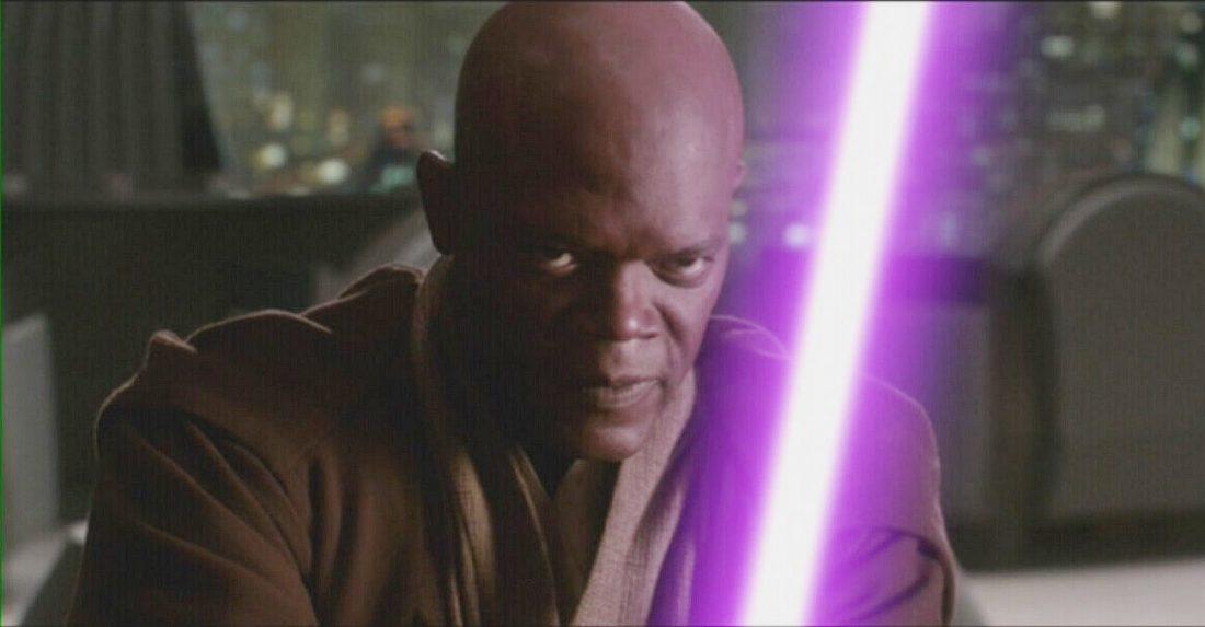 Samuel L. Jackson diz que está pronto para empunhar seu sabre de luz roxo novamente