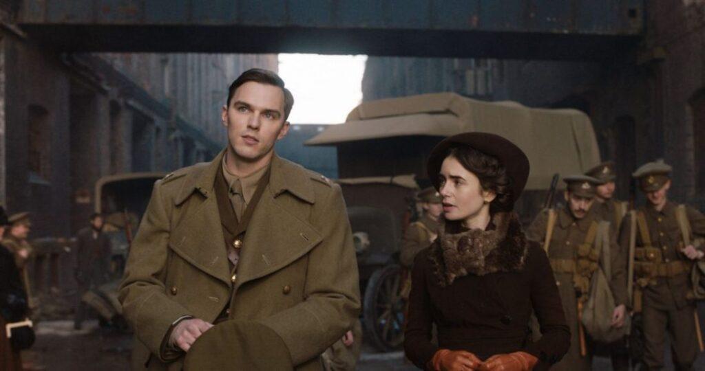 Nicholas Hoult e Lily Collins