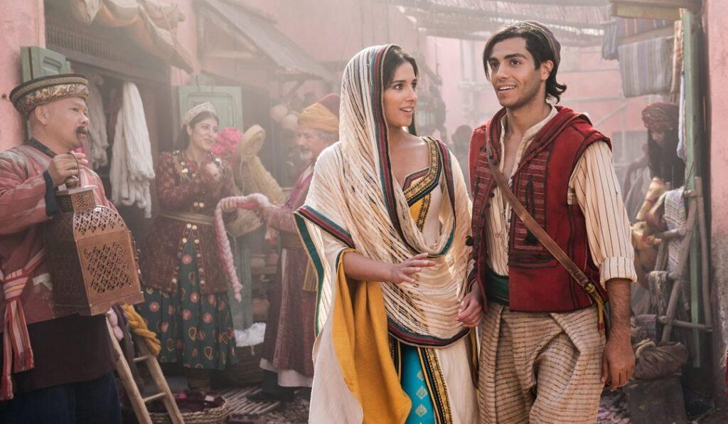 Aladdin e a Princesa Jasmine