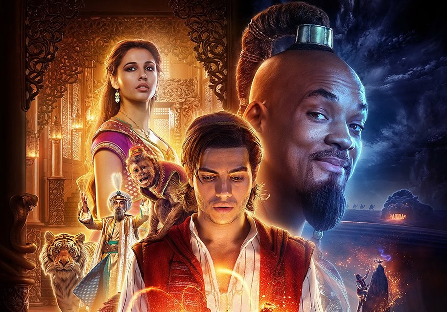 Aladdin – Trailer com novas imagens, músicas e Will Smith