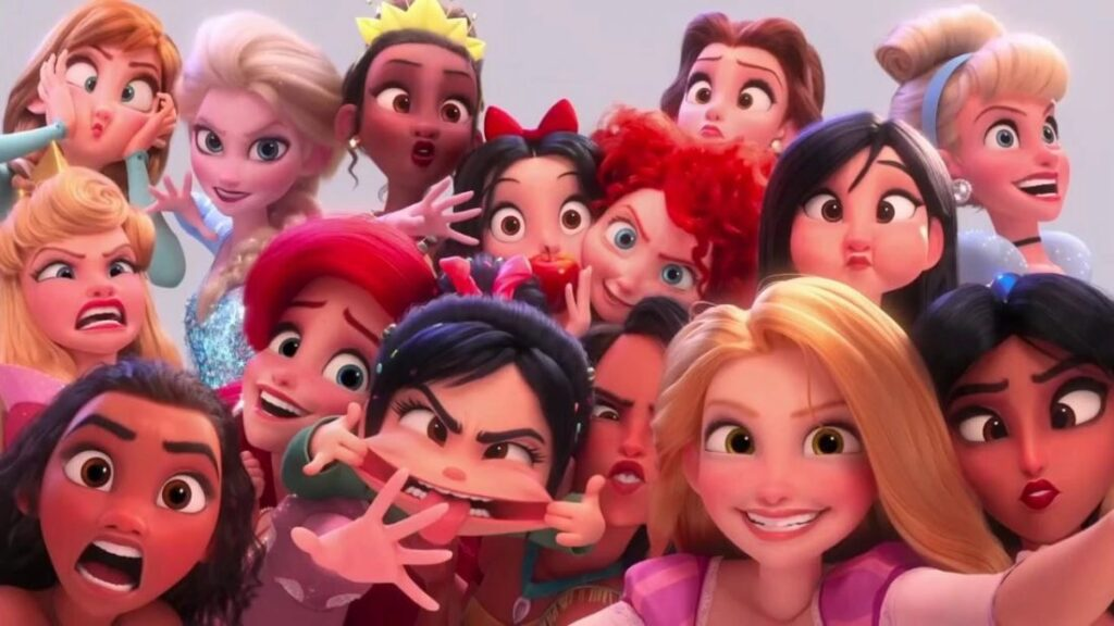 WiFi Ralph: Quebrando a Internet - Spin-Off Princesas da Disney