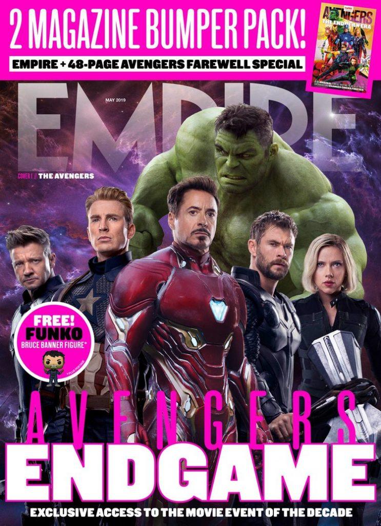 empire magazine vingadores ultimato 743x1024 - Vingadores Ultimato - Capa da Empire Magazine mostra Thanos com sua armadura restaurada