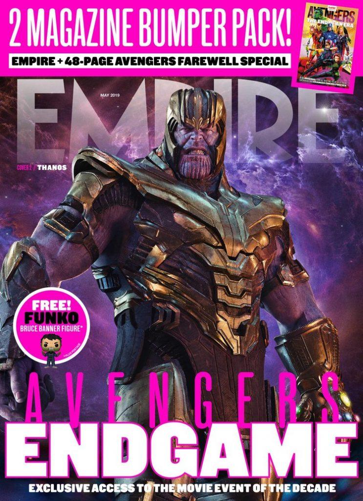 empire magazine vingadores ultimato thanos 743x1024 - Vingadores Ultimato - Capa da Empire Magazine mostra Thanos com sua armadura restaurada