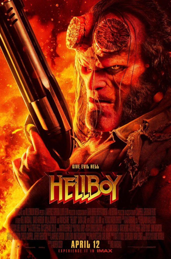 hellboy 2019 poster1 674x1024 - Hellboy - Novo trailer RED Band liberado e mais 2 posters inéditos