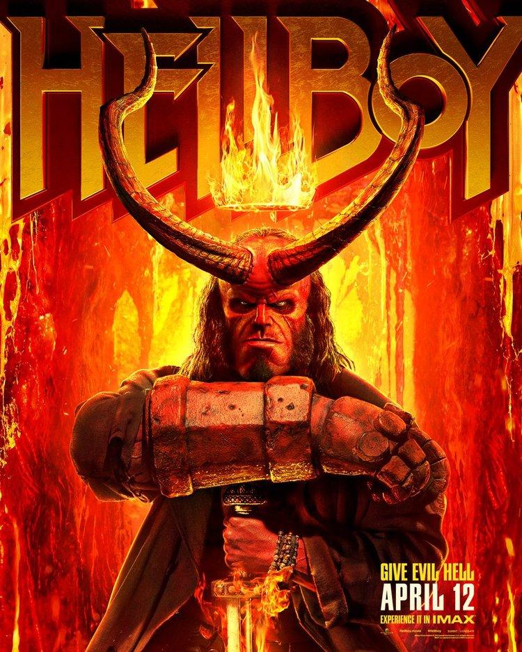 hellboy 2019 poster2 - Hellboy - Novo trailer RED Band liberado e mais 2 posters inéditos