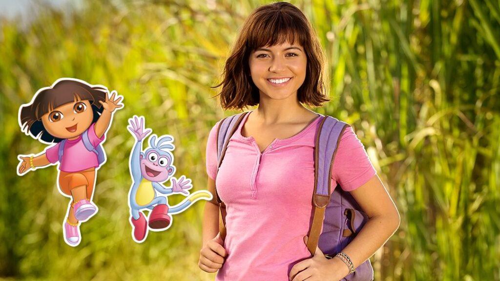 Isabela Moner como Dora Aventureira