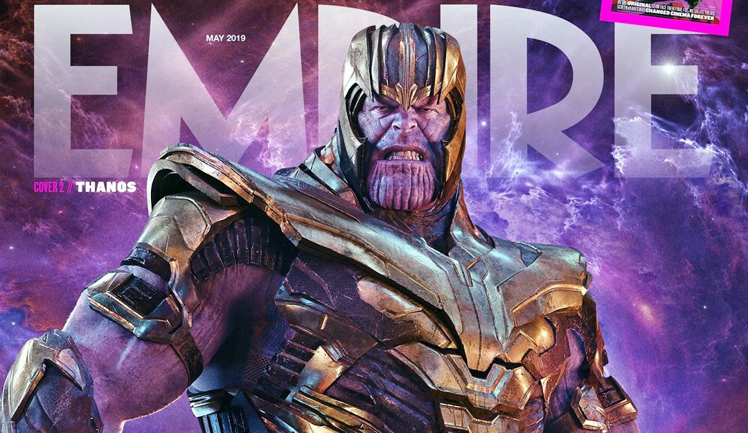Vingadores Ultimato – Capa da Empire Magazine mostra Thanos com sua armadura restaurada