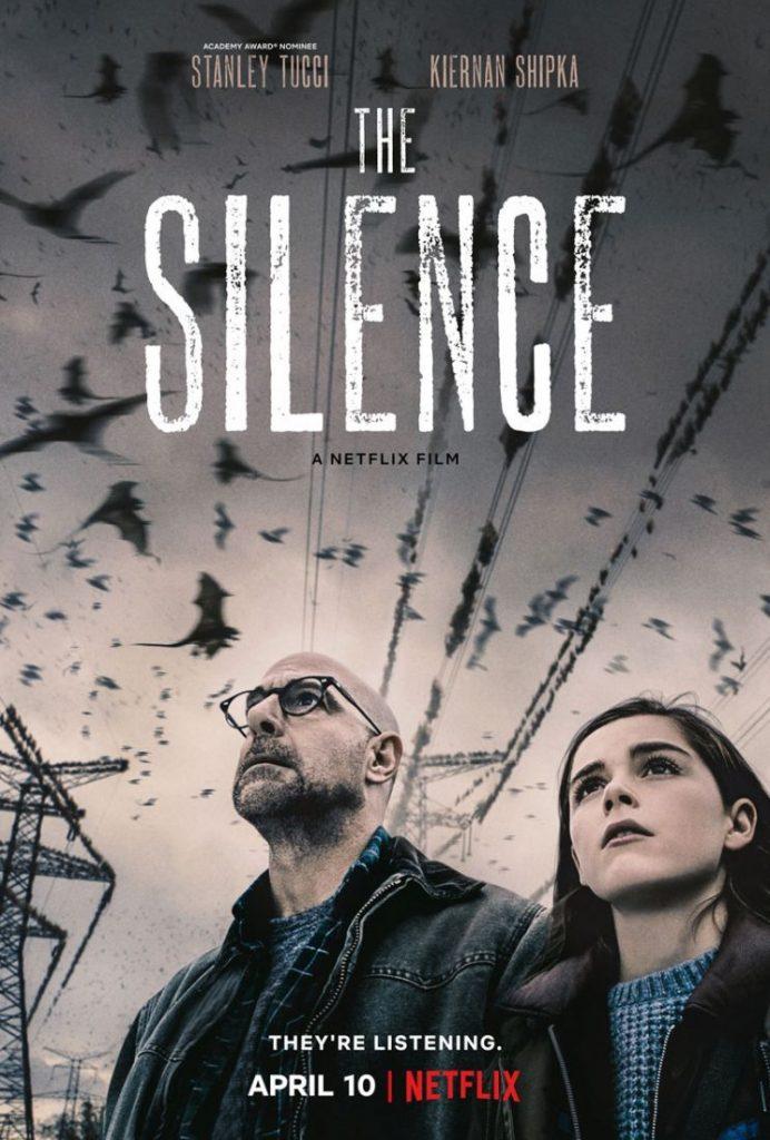the silence poster 692x1024 - The Silence: Trailer do novo filme de terror da Netflix