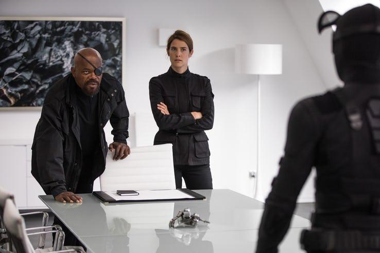 Homem-Aranha: Longe de Casa - Nick Fury e Maria Hill