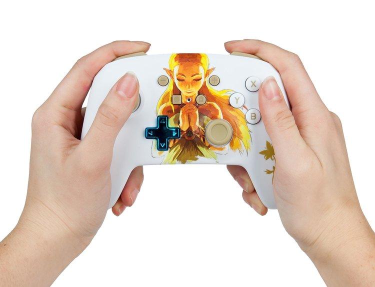 PowerA Controle Princesa Zelda - Jogabilidade Usuário - Nintendo Switch
