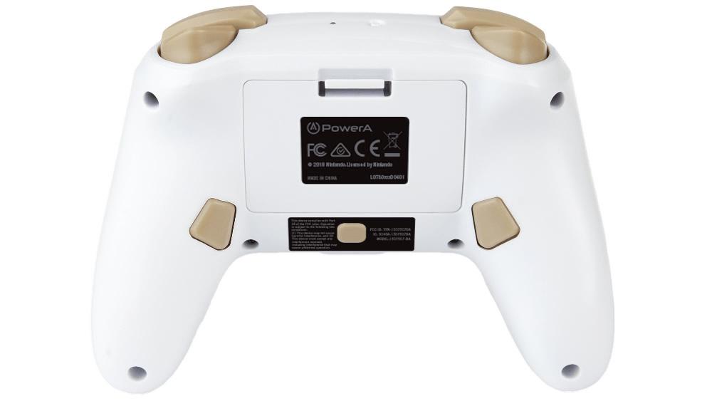 PowerA Controle Princesa Zelda - Vista de Baixo - Nintendo Switch
