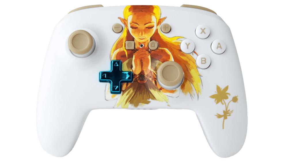 Nintendo Switch - PowerA revela controle temático com a Princesa ZELDA