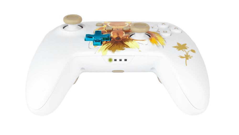 PowerA Controle Princesa Zelda - Vista Traseira - Nintendo Switch