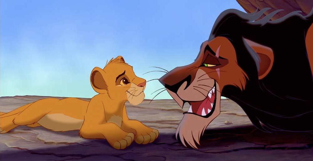 Rei Leao Simba e Scar - Teste seus conhecimentos sobre O Rei Leão