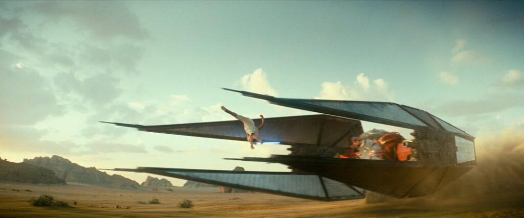 STAR WARS: A ASCENSÃO SKYWALKER - Novo uso da Força