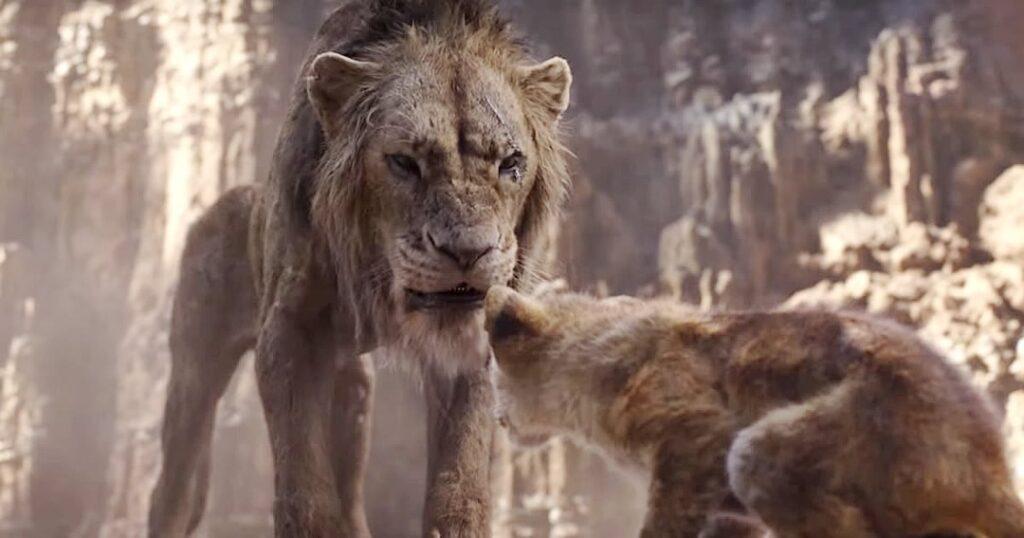 """O Rei Leão - Scar: """"Fuja Simba! E nunca mais volte!"""""""
