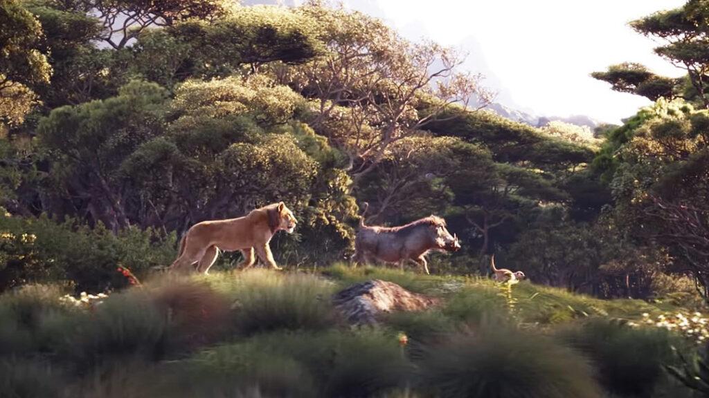 Rei Leão - Simba, Pumba e Timão - Hakuna Matata