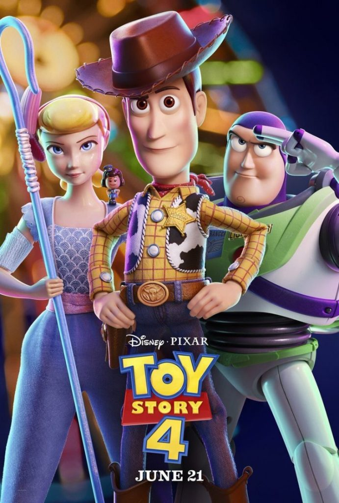 TOY STORY 4   Novo poster reúne Woody, Buzz Lightyear e Betty