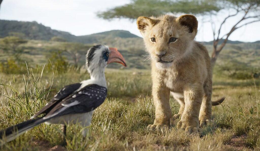 O Rei Leão - Zazu e Simba