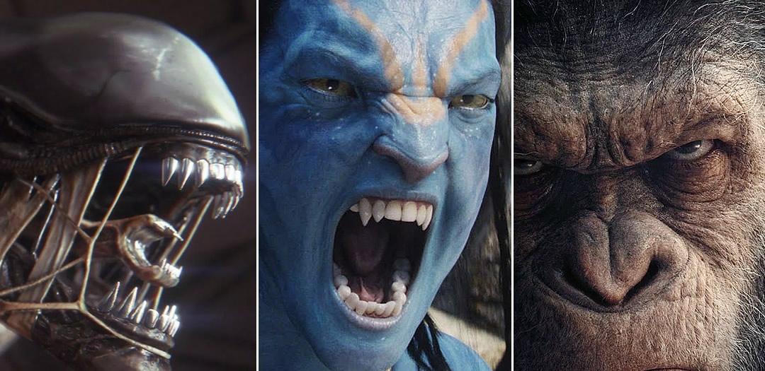 Disney está interessada nas franquias de Alien, Avatar e Planeta dos Macacos