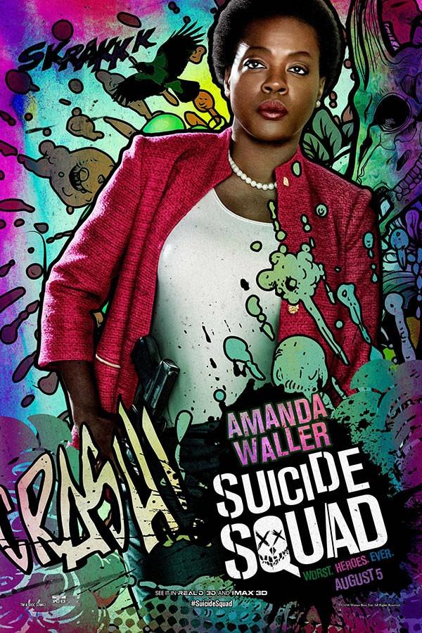 Amanda Waller - Esquadrão Suicida