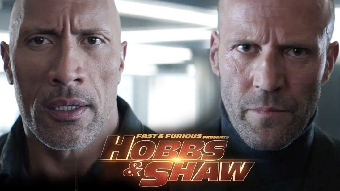Hobbs & Shaw novo trailer com muita ação, tiros, porradas e bombas