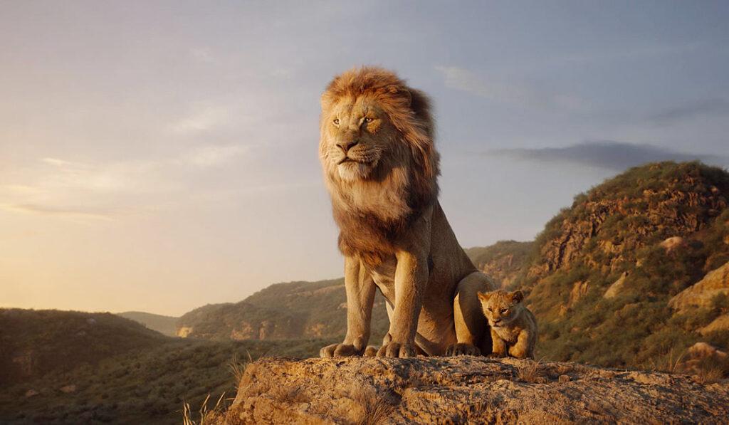 O Rei Leão - Mufasa e Simba