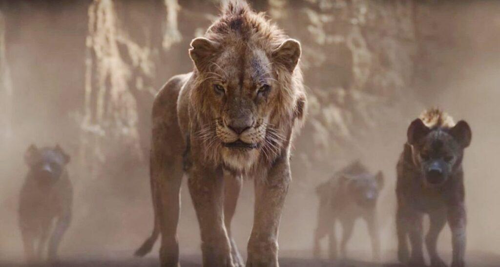 O Rei Leão - Scar e as Hienas Shenzi, Banzai e Ed