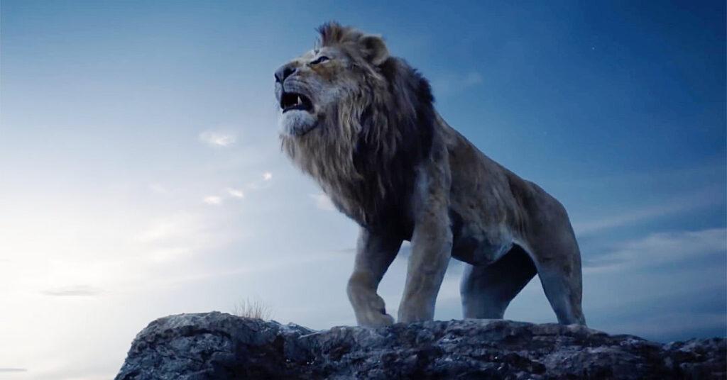O Rei Leão - Simba Adulto