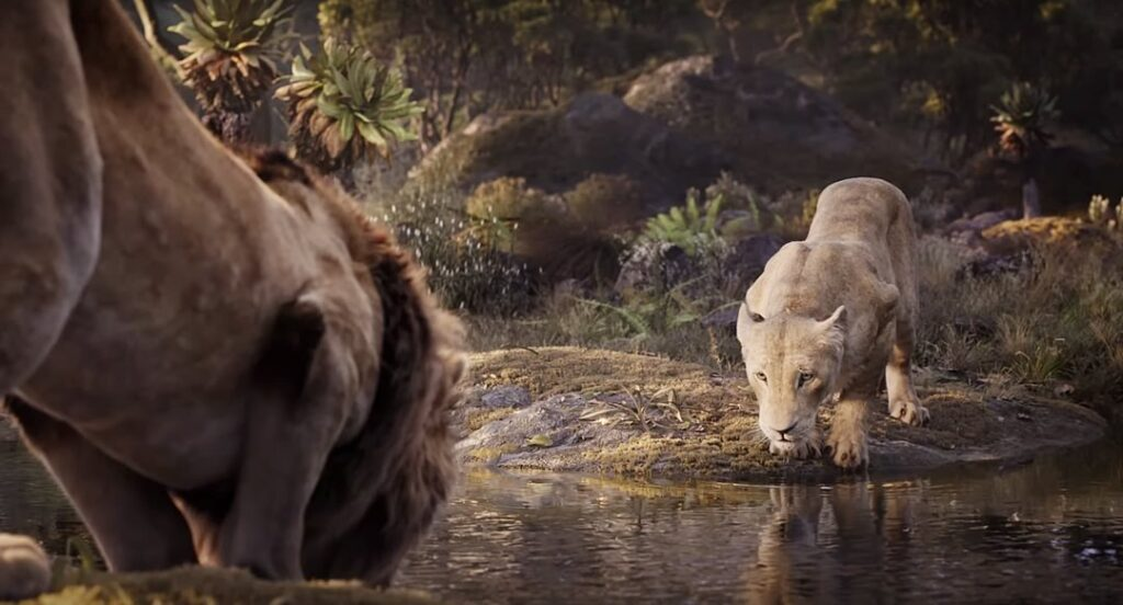 simba nala 1024x552 - O Rei Leão   A Disney lançou um novo trailer com vários personagens