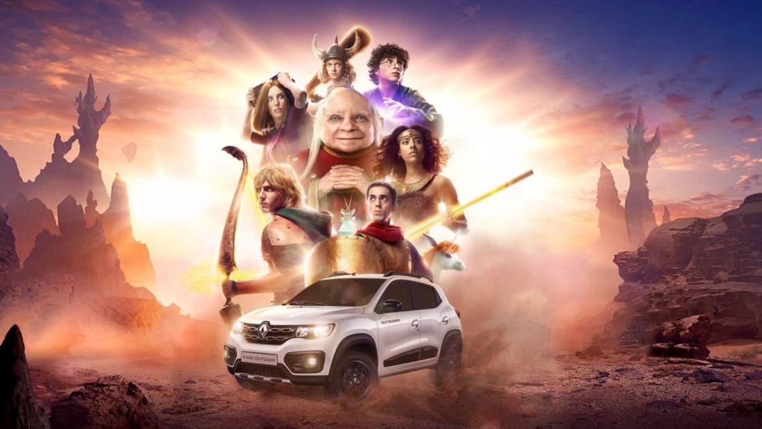 Renault lança comercial live-action de Caverna do Dragão para promover o Kwid Outsider