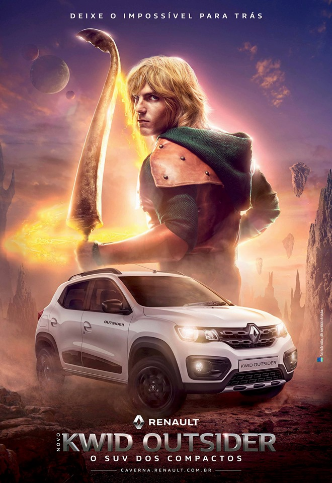 Caverna do Dragao Renault Kwid Outsider 4 - Caverna do Dragão | Renault lança comercial para promover o Kwid Outsider