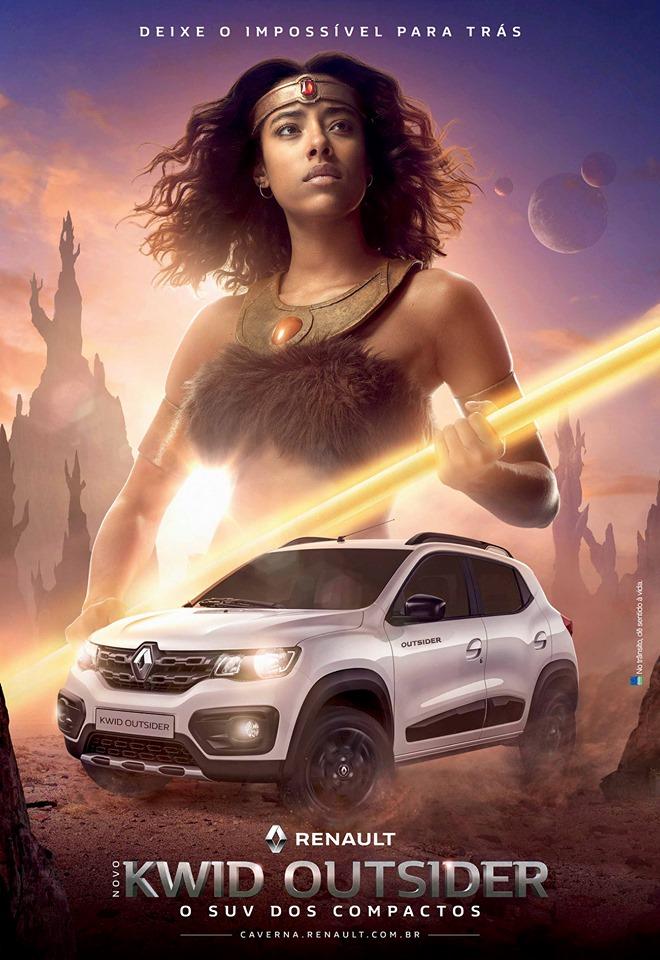 Caverna do Dragao Renault Kwid Outsider 7 - Caverna do Dragão | Renault lança comercial para promover o Kwid Outsider