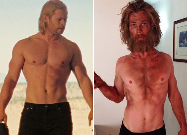 Chris Hemsworth fez uma dieta 500 calorias por dia para No Coração do Mar
