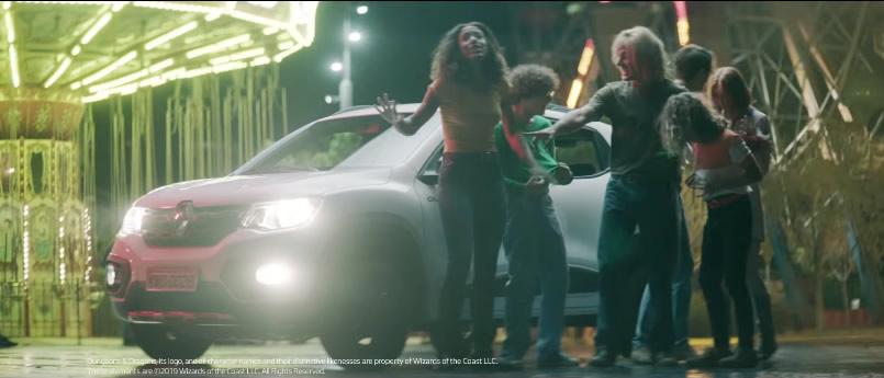 Final de Caverna do Dragao comercial Renault Kwid Outsider - Caverna do Dragão | Renault lança comercial para promover o Kwid Outsider