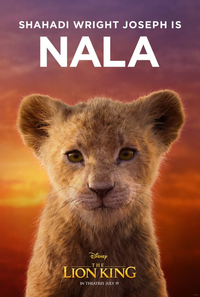 O Rei Leão - Nala Jovem