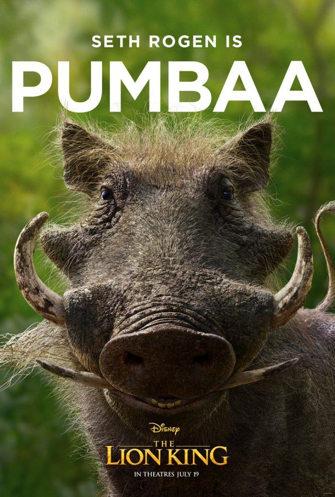 O Rei Leão - Pumba
