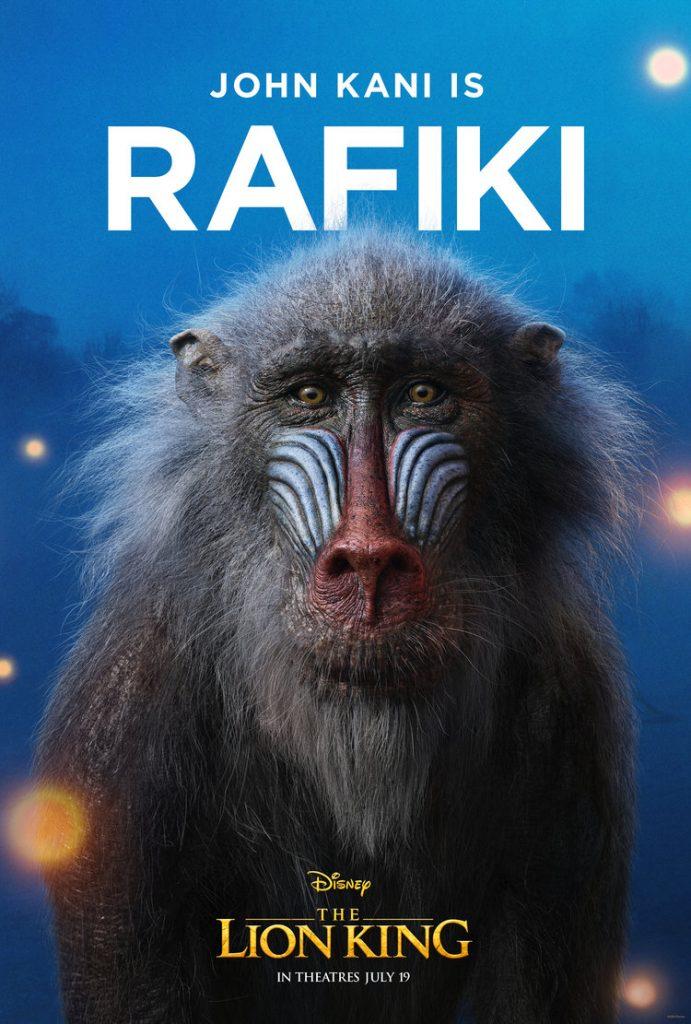 O Rei Leão - Rafiki