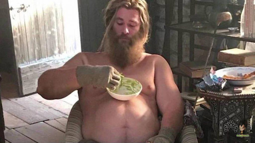 Thor Gordo afetou as costas de Chris Hemsworth durante as filmagens