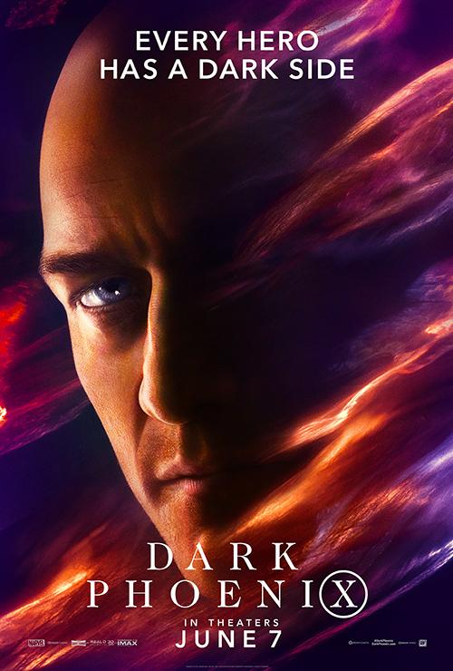 X-Men - Fênix Negra - James McAvoy - Professor Xavier