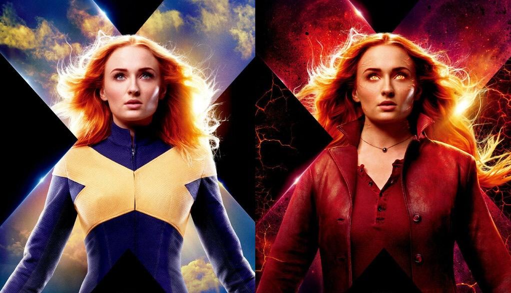 X-Men - Fênix Negra | Jean Grey e Fênix em novos posters