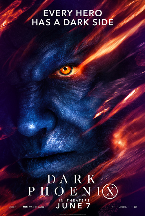 X-Men - Fênix Negra - Nicholas Hoult - Fera