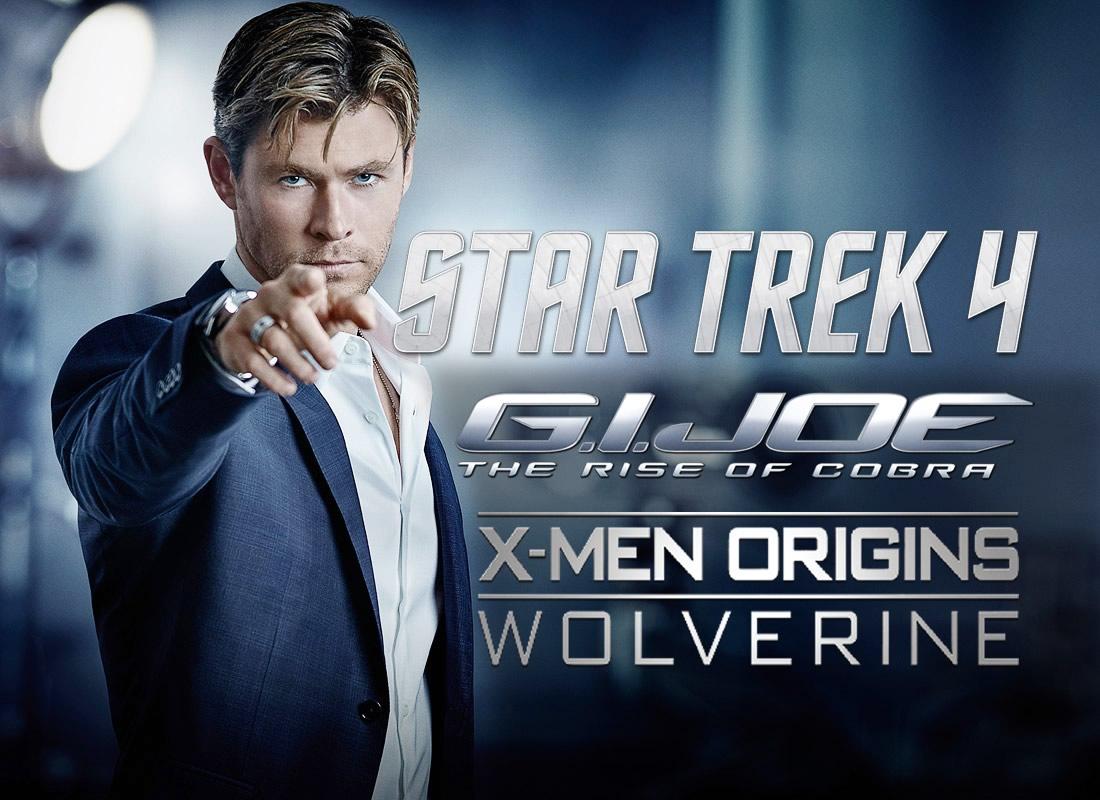 Chris Hemsworth | Antes de interpretar THOR, Hemsworth quase foi Gambit em X-Men Origens e Duke em GI Joe