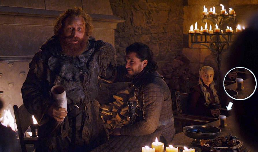 Game of Thrones | Copo da Starbucks aparece no episódio 4 da oitava temporada