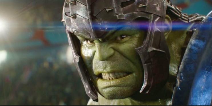 Hulk em Thor Ragnarok
